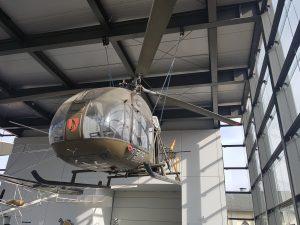 Bückeburg Hubschraubermuseum Minicamper by Birgit Strauch Bewusstseinscoaching
