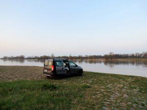 Mit dem Minicamper an die Elbe bei Tangermünde by Birgit Strauch Bewusstseinscoaching