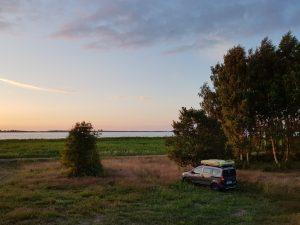 Mit dem James Baroud Dachzelt nach Usedom by Birgit Strauch