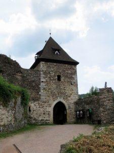 Minicamper Burg Potstejn Ostböhmen by Birgit Strauch Bewusstseinscoaching