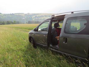 Minicamper Stellplatz im Adlergebirge Ostböhmen by Birgit Strauch Bewusstseinscoaching