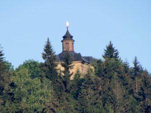 Minicamper Panny Marie Snezne Kapelle bei Krinice by Birgit Strauch