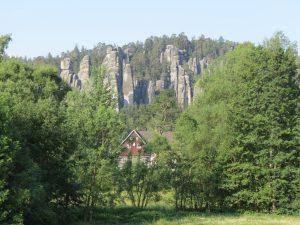 Minicamper Adersbacher Felsen by Birgit Strauch