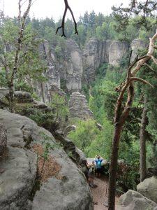 Mit dem Minicamper zu den Prachower Felsen Tschechien by Birgit Strauch Shiatsu