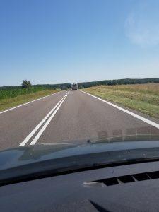 Dacia Dokker Minicamper mit Dachzelt, Litauen Merkine Memel by Birgit Strauch