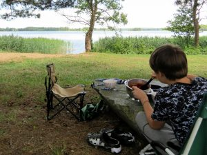 Dacia Dokker Minicamper Tour nach Litauen, Snaigynas-Veisiejai Observation Tower by Birgit Strauch