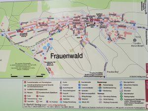 Minicamper Stellplatz in Frauenwald Thüringer Wald by Birgit Strauch