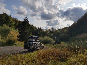 Minicamper Stellplatz im Thüringer Wald bei Frauenwald by Birgit Strauch