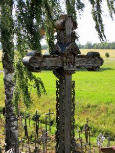 Dacia Dokker Minicamper Litauen Berg der Kreuze by Birgit Strauch