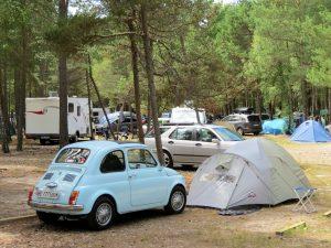 Mit Minicamper & Dachzelt auf die Kurische Nehrung Campingplatz Nida by Birgit Strauch