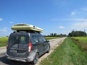 Mit dem Minicamper zum Gauja Nationalpark by Birgit Strauch