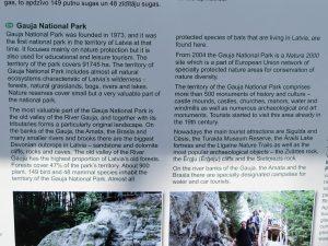 Mit dem Minicamper zum Zvartes Felsen im Gauja Nationalpark by Birgit Strauch
