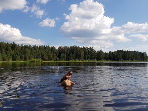 Mit dem Minicamper Sänna in Estland by Birgit Strauch
