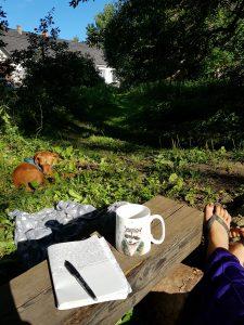 Mit dem Minicamper nach Sänna Kultuurimõis in Estland by Birgit Strauch
