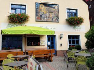 Zur Postkutsche in Seiffen by Birgit Strauch