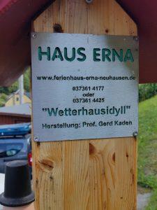 Haus Erna in Neuhausen im Erzgebirge by Birgit Strauch