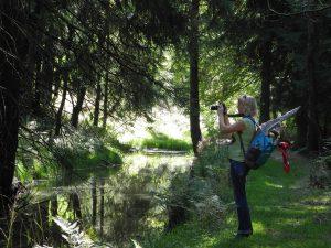 Flaje Stausee Floßgraben Tschechien mit dem Minicamper by Birgit Strauch
