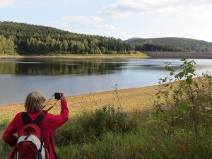 Talsperre Rauschenbach Wanderung by Birgit Strauch