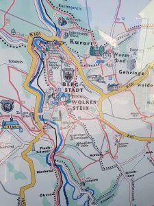 Minicamper Tour nach Wolkenstein in die Wolfsschlucht by Birgit Strauch