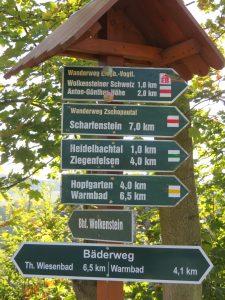 Mit dem Minicamper in die Wolkensteiner Schweiz by Birgit Strauch