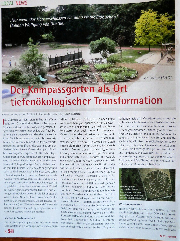 Arche Weinberg ein Gartenprojekt bei Bestensee by Birgit Strauch