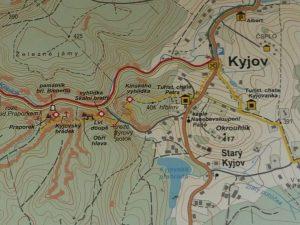 Wanderung von Khaa / Kyjov zur Feenhöhle in der Böhmischen Schweiz by Birgit Strauch