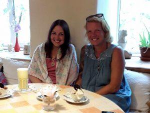 Birgit und Marianne in Roosiku