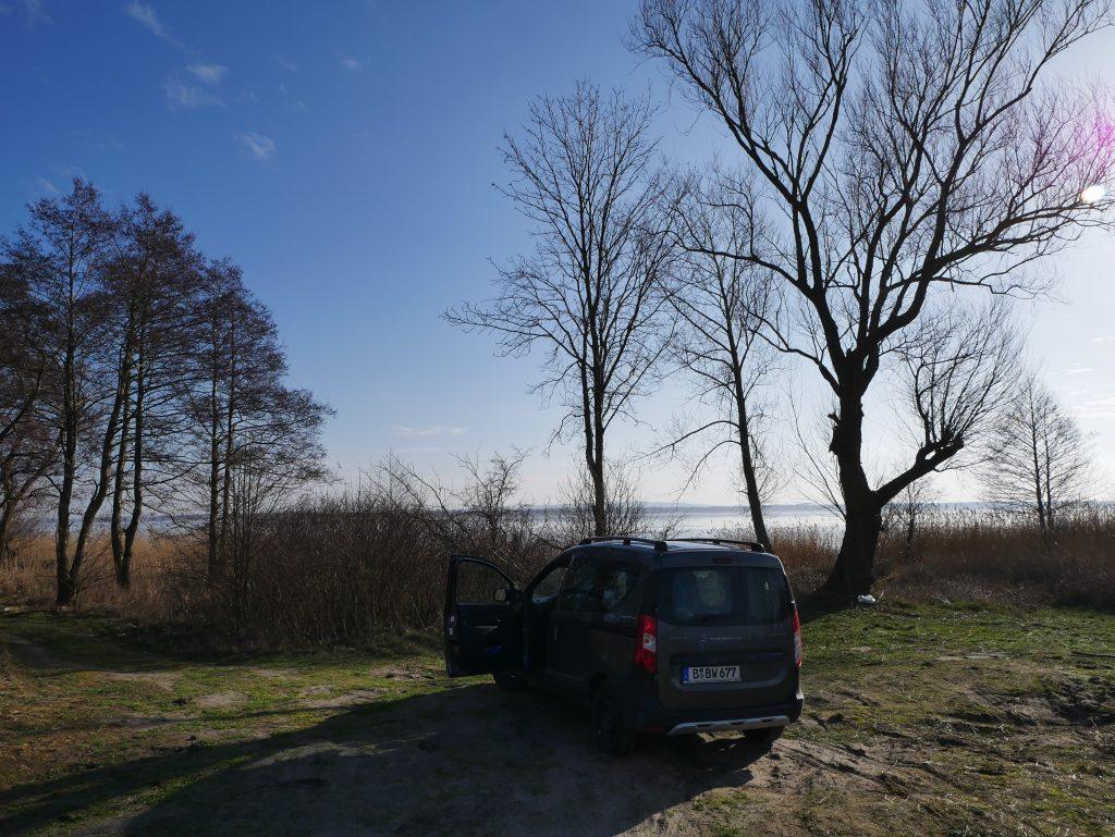 Mit dem Minicamper nach Lazy an die polnische Ostsee by Birgit Strauch