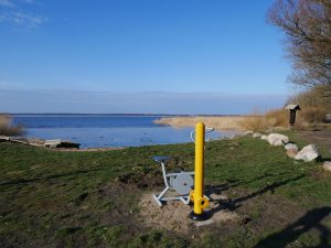 Mit dem Minicamper nach Osieki an die polnische Ostsee by Birgit Strauch
