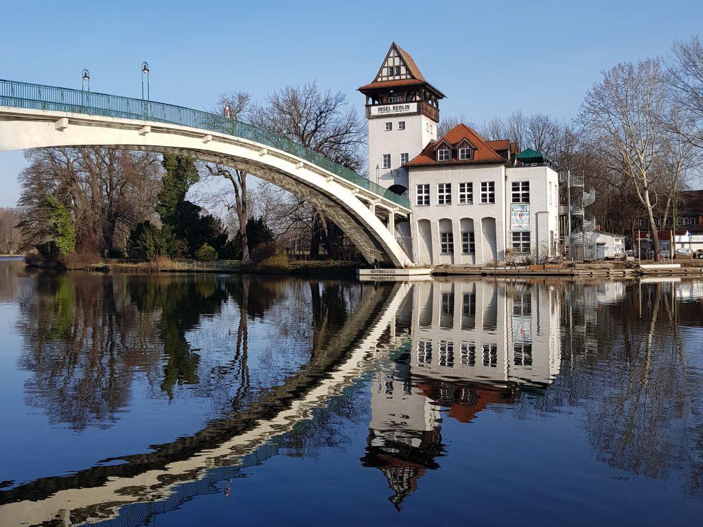 Treptower Park Berlin Minicamper Stellplatz by Birgit Strauch
