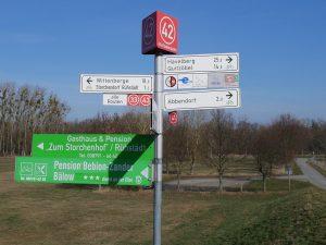 Elbe Radtour nach Bälow by Birgit Strauch