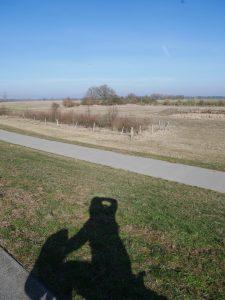 Radtour an der Elbe bei Gnevsdorf by Birgit Strauch