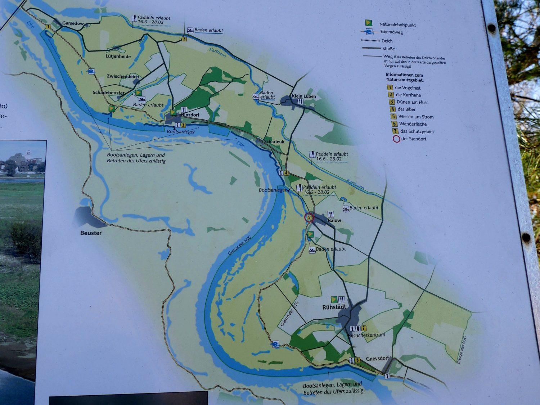 Radtour an der Elbe nach Bälow by Birgit Strauch