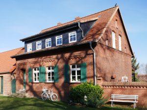 Mit dem Fahrrad nach Rühstädt an der Elbe by Birgit Strauch