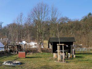 Biwakplatz in Göttlin an der Havel by Birgit Strauch