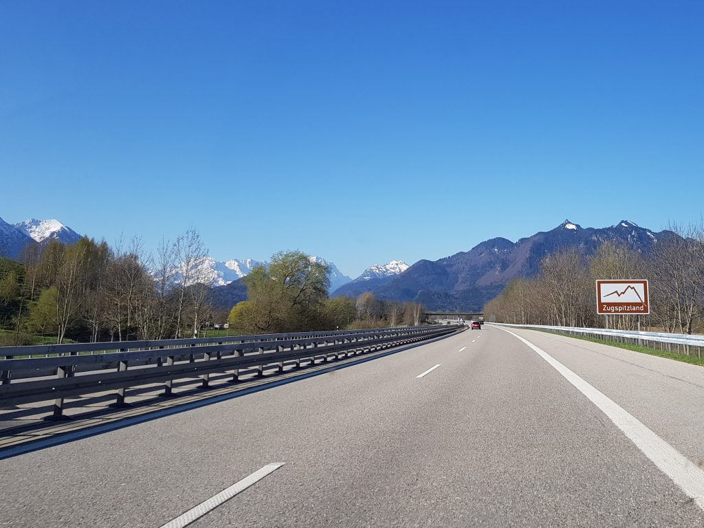 Mit dem Minicamper nach Oberammergau by Birgit Strauch
