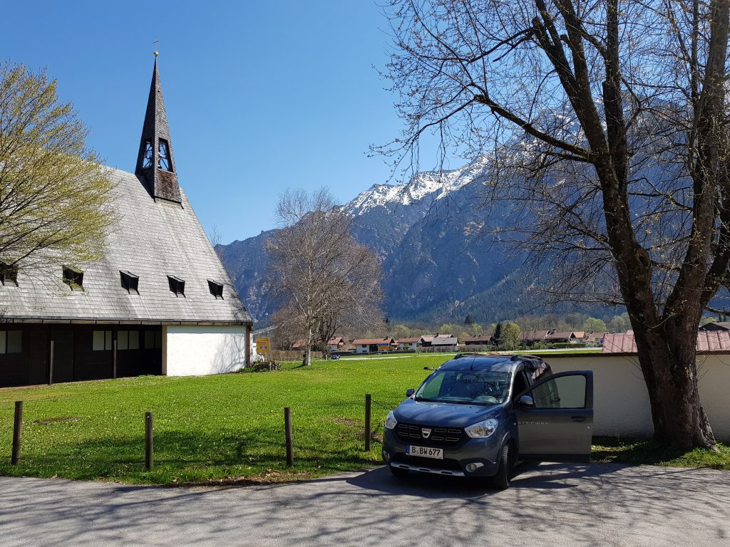 Mit dem Minicamper nach Oberau by Birgit Strauch