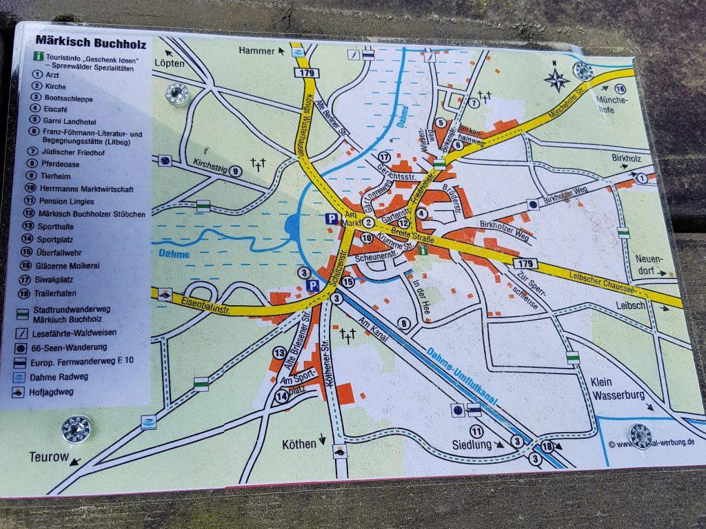 Freistehen in Brandenburg bei Märkisch Buchholz by Birgit Strauch