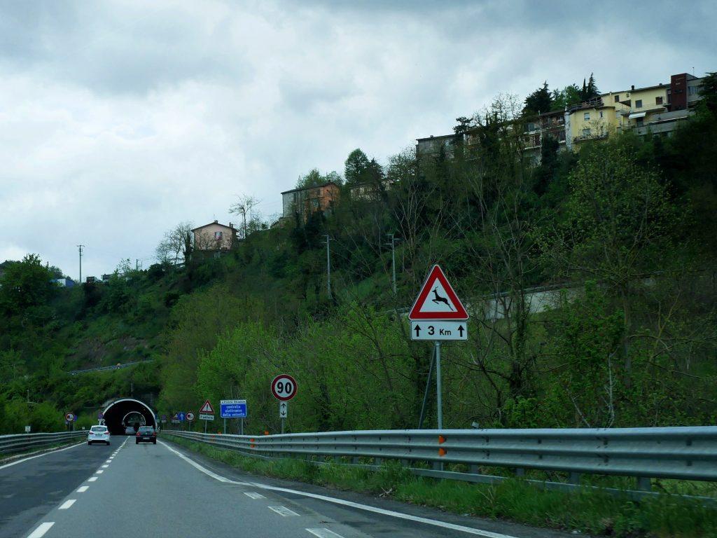 Fahrt vom Po nach Anghiari mit dem Minicamper by Birgit Strauch