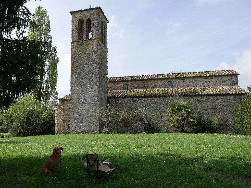 Minicamper Tour zur Pieve di Santa Maria alla Sovara by Birgit Strauch