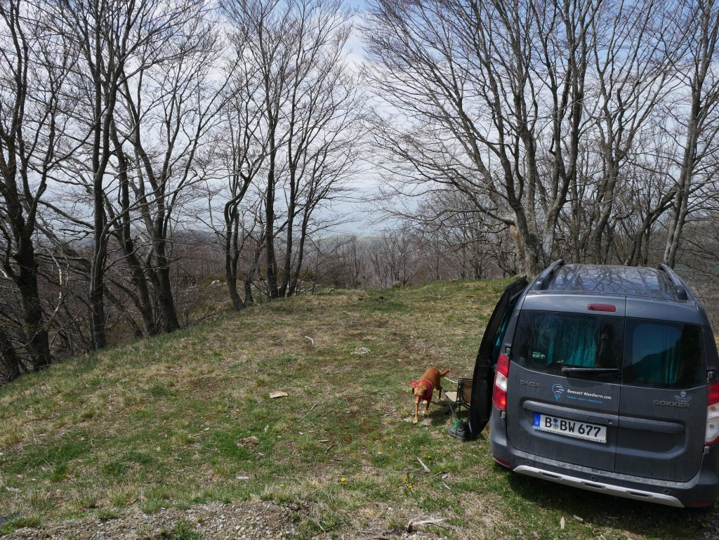 Minicamper Tour zum Croce del Pratomagno by Birgit Strauch