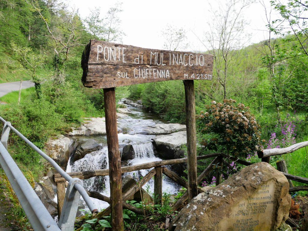 Ponte di Mulinaccio im Pratomagno Gebirge by Birgit Strauch