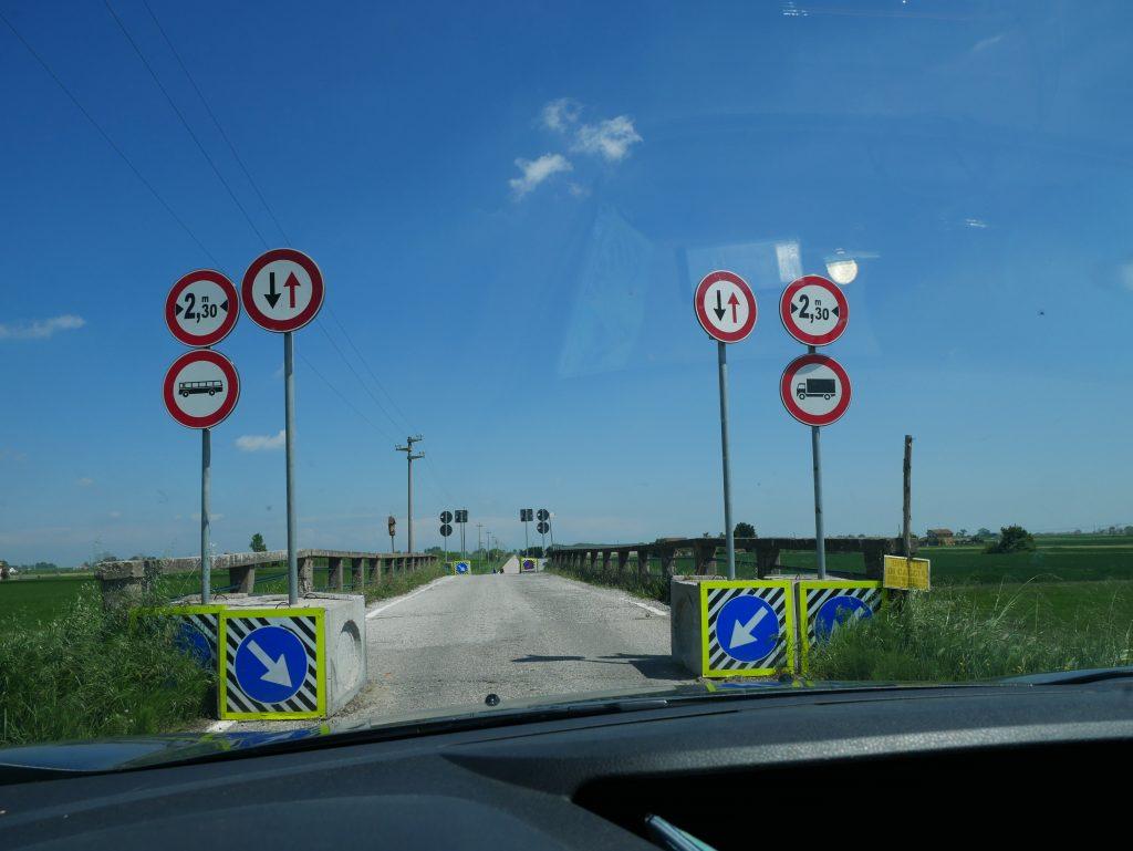 Minicamper Tour durch das Po Delta Italien by Birgit Strauch