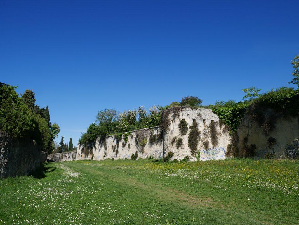 Stadtmauern von Verona by Birgit Strauch