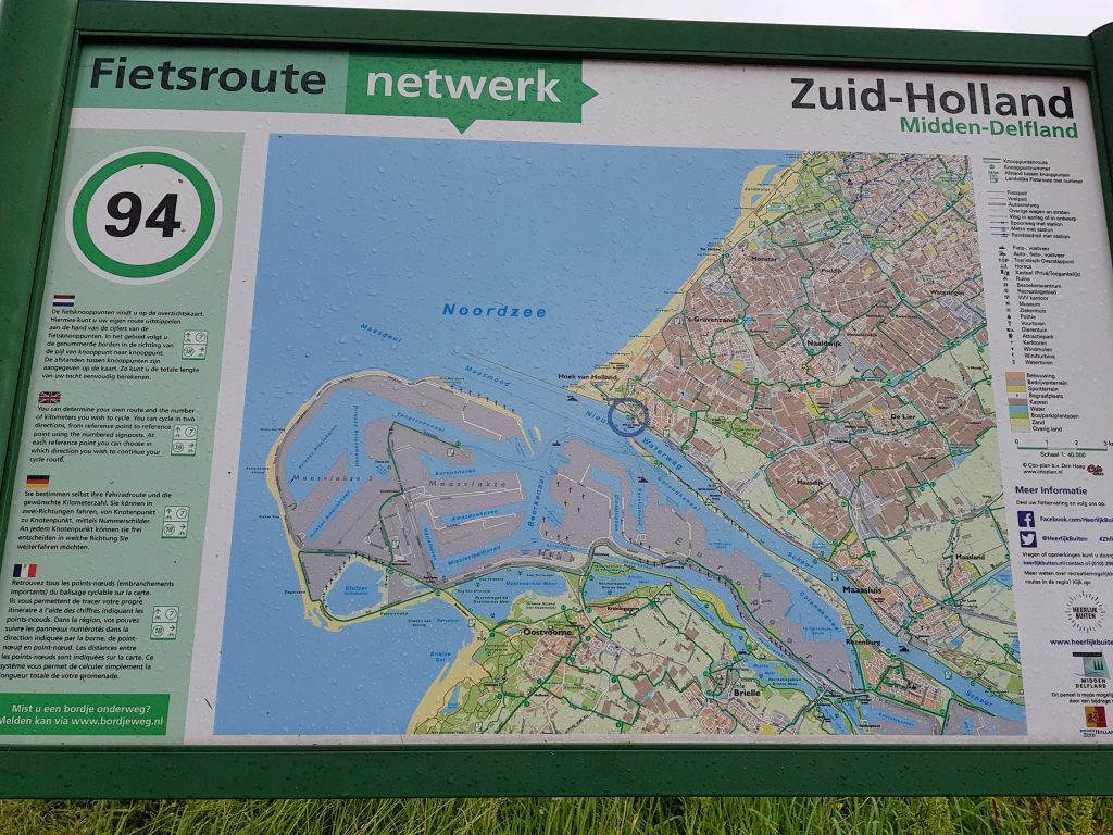Warten auf die Fähre in Hoek van Holland by Birgit Strauch