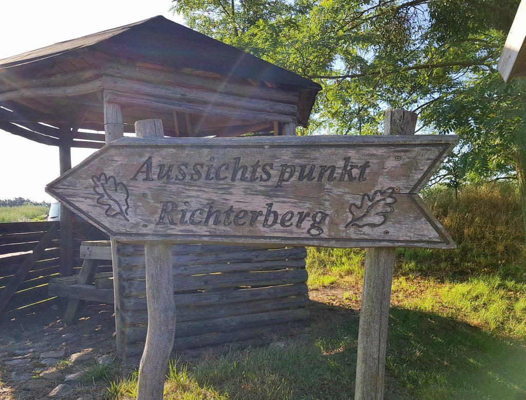 Aussichtspunkt Richterberg unteres Odertal by Birgit Strauch