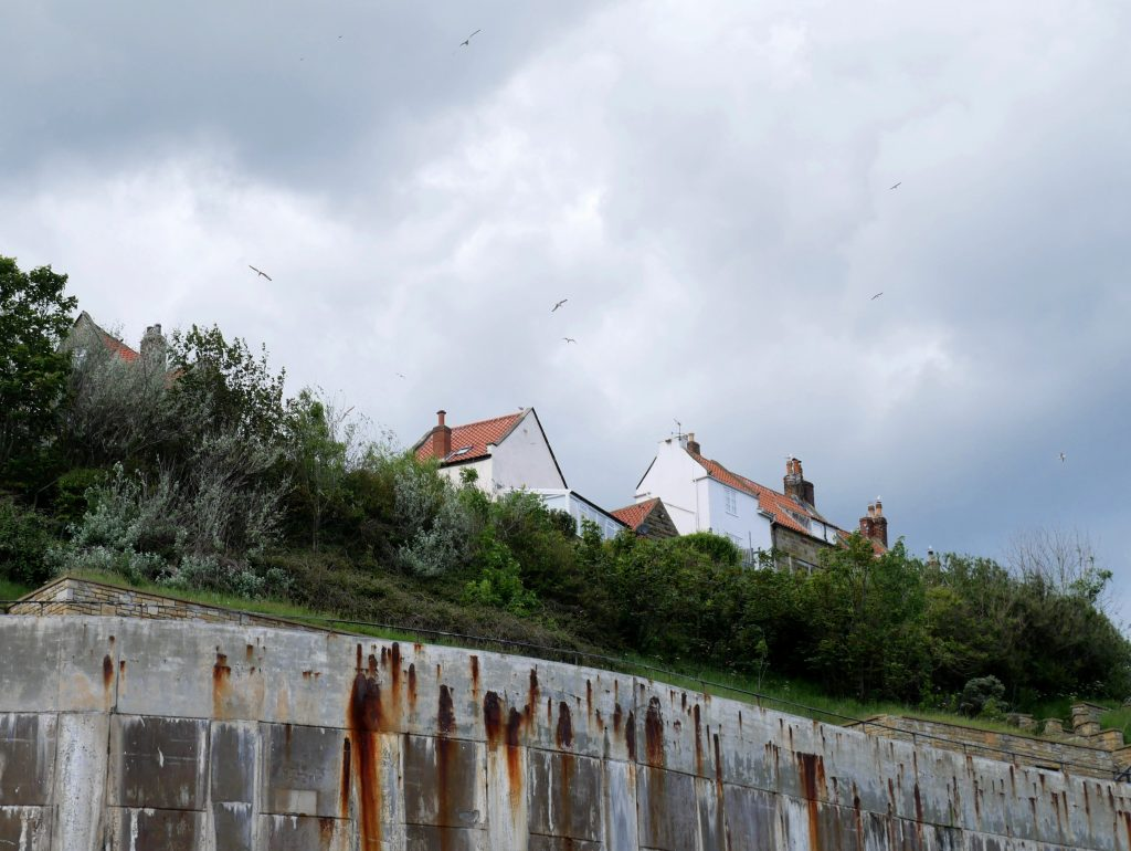 Mit dem Dachzelt zur Robin Hoods Bay by Birgit Strauch