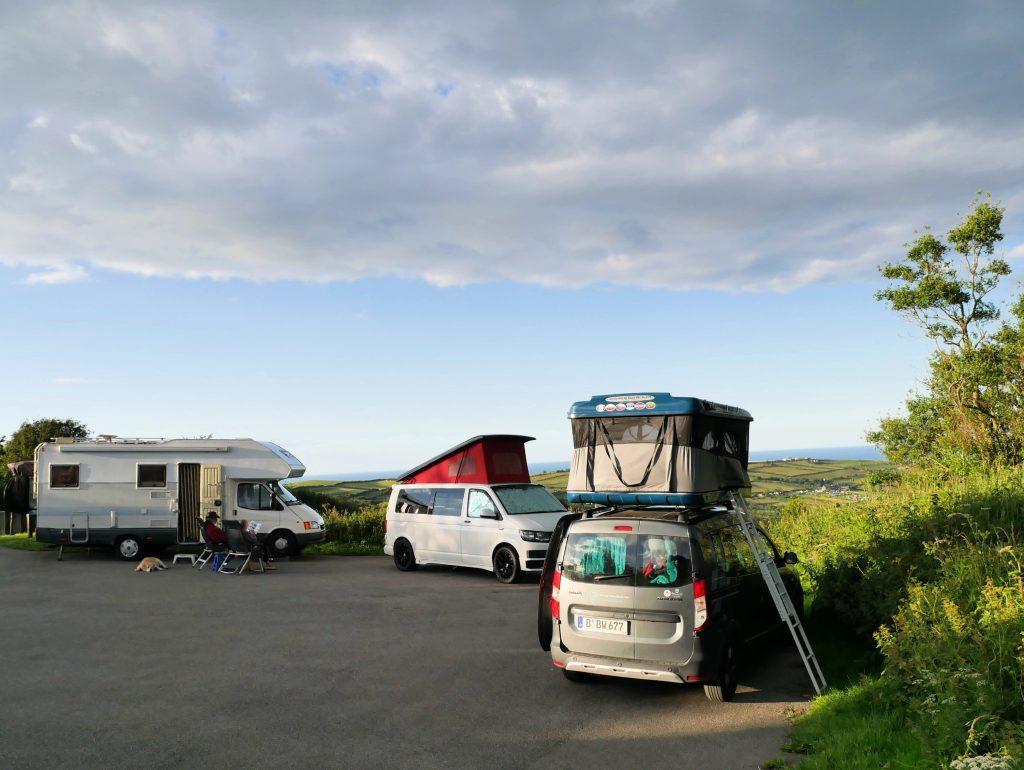 Freistehen mit Dachzelt in Robin Hood´s Bay by Birgit Strauch