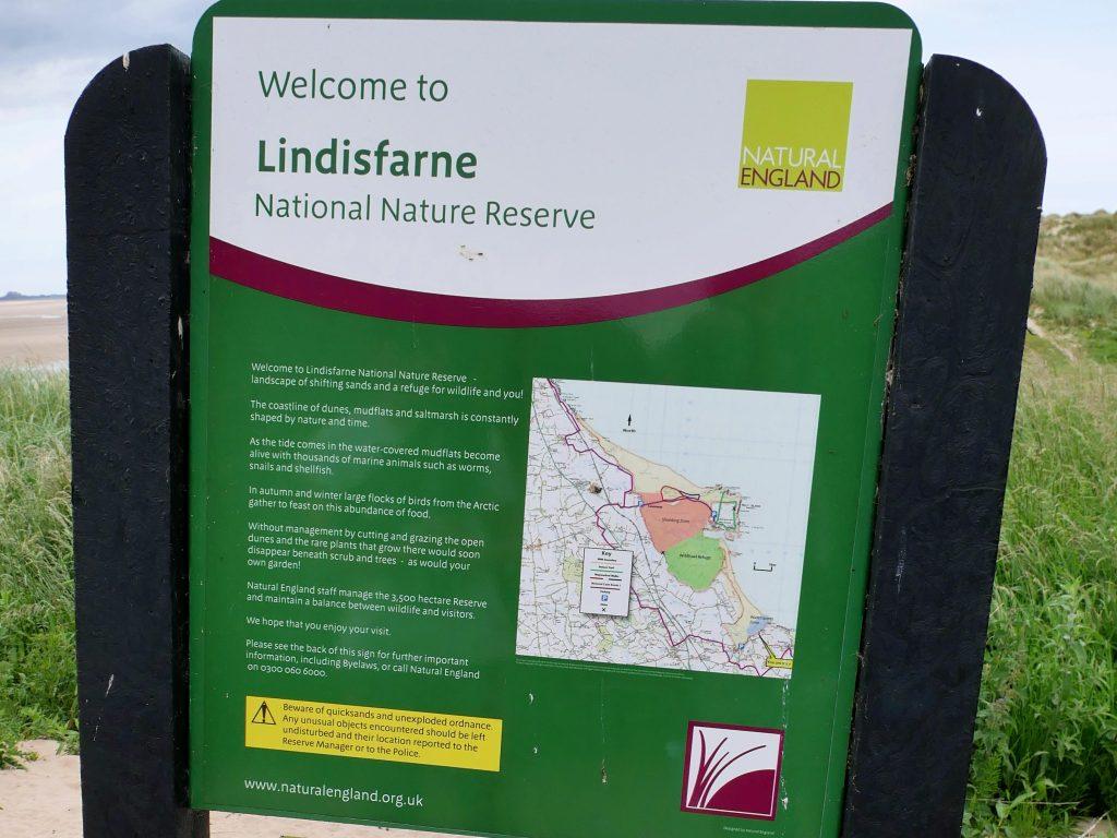 Lindisfarne Nationalpark England by Birgit Strauch
