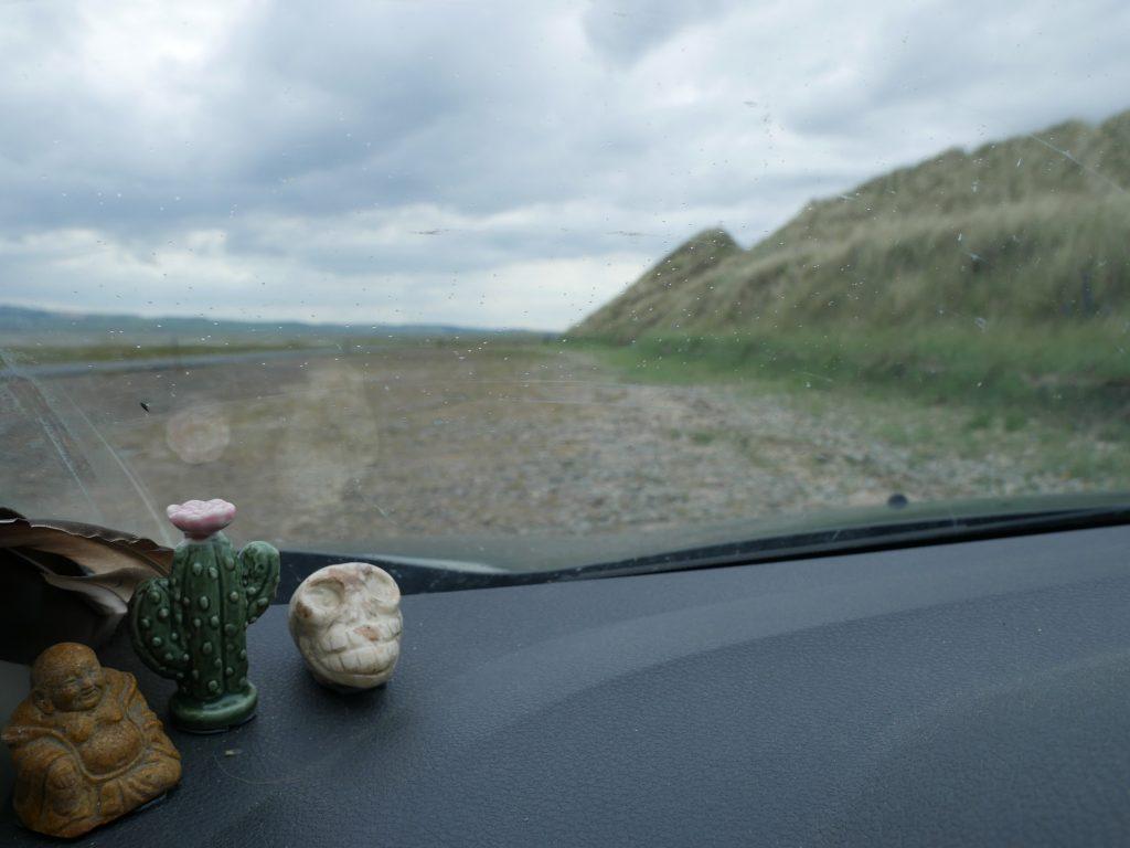 Holy Island in England by Birgit Strauch